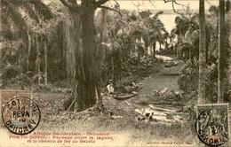 DAHOMEY - Carte Postale - Porto Novo - Paysage Entre La Lagune Et Le Chemin De Fer De Sakété - L 53254 - Dahomey