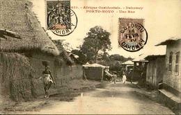 DAHOMEY - Carte Postale - Porto Novo - Une Rue - L 53255 - Dahomey
