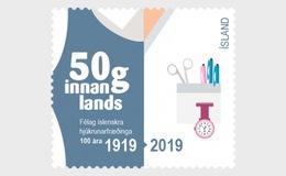 IJsland / Iceland - Postfris / MNH - Verpleegsters 2019 - 1944-... Republik