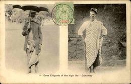 DAHOMEY - Carte Postale - Deux Elégants Of The High Life - L 53257 - Dahomey