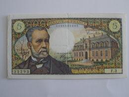 BILLET 5 F PASTEUR FAY 61/1 - 1962-1997 ''Francs''