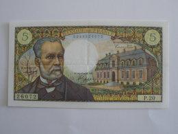 BILLET 5 F PASTEUR FAY 61/2 - 1962-1997 ''Francs''