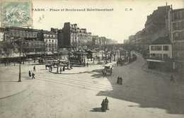 PARIS Place Et Boulevard Ménilmontant RV - Arrondissement: 20