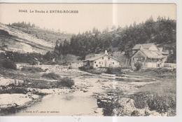 CPA-25-Doubs- Le Doubs à ENTRE-ROCHES- - Francia
