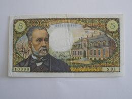 BILLET 5 F PASTEUR FAY 61/3 - 1962-1997 ''Francs''