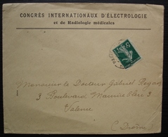 Paris 118 1910 Congrès Internationaux D'électrologie Et De Radiologie Médicales - 1877-1920: Période Semi Moderne