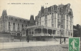 CARTE POSTALE ORIGINALE ANCIENNE : HOULGATE L'HOTEL DU CASINO ANIMEE (14) - Houlgate