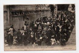 - CPA FLERS (61) - Rue Jules Gevelot, Le Marché Aux Volailles (grande Animation) - Edition Buisson 107 - - Flers