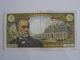 BILLET 5 F PASTEUR FAY 61/5 - 1962-1997 ''Francs''