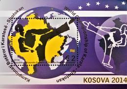 CHAMPIONNATS DU MONDE DE KARATE 2014 - NEUF ** - YT BL 20 - MI BL 27 - Kosovo