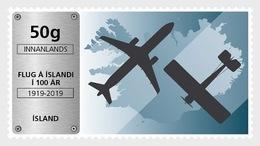 IJsland / Iceland - Postfris / MNH - Luchtvaart In IJsland 2019 - 1944-... Republik