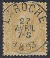 "émission 1884 - N°50 Obl Simple Cercle ""Laroche"". Superbe ! - 1884-1891 Leopold II"