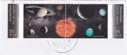 Deutschland BRD 2011 2884-2885 Als Paar Gestempelt 2011 Astronomie - Gebraucht