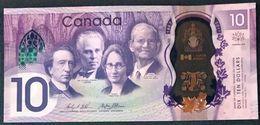 Canada P 112 - 10 Dollars 2017 Commemorative - UNC - Canada
