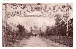 (61) 839, Mauves Sur Huisne, Chouanard 4, Fete Du 2 Octobre 1921, Place Du Champ De Foire - Frankrijk