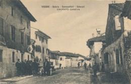 2a.622. VISCONE - Osteria-Commestibili-Coloniali ONORATO CANEVA - Udine - 1934 - Andere Städte