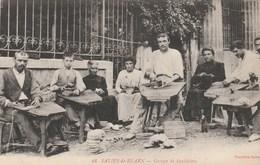 CPA - Groupe De Sandaliers - Saliès De Béarn - Artisanat