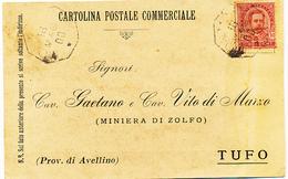 1900 MONTELONGO CAMPOBASSO  OTTAGONALE DI COLLETTORIA RURALE - 1878-00 Umberto I