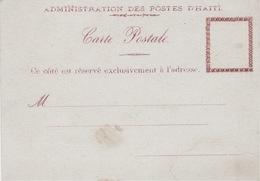 Haïti. Carte Postale Neuve Sans Timbre-poste. Probablement Rebutée. Peu Commun. Scan. - Haïti