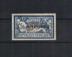 Andorre Fr. 1931 Yvert 21 Neuf** MNH - Nuevos