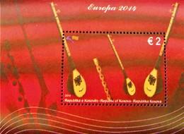 EUROPA - INSTRUMENTS DE MUSIQUE NATIONAUX 2014 - NEUF ** - YT BL 21 - MI BL 29 - Kosovo