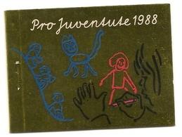 Schweiz, 1988, Markenheftchen 0-85, Postfrisch**, Vollständig Mit Allen Marken - Booklets
