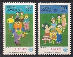 Turquie Türkei Turkije Cept 1989 Yvertn° 2602-2603 *** MNH Cote 10 Euro Europa - 1921-... République