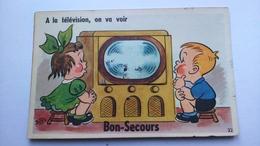 Carte Postale ( CC1) Ancienne De Bonsecours , Avec Dépliant De Plusieurs Vues - Bonsecours