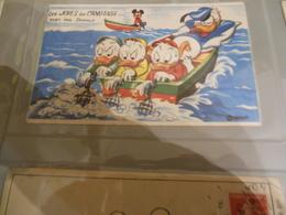 IMAGE LES JOIES DU CANOTAGE VUES PAR DONALD MICKEY MOUSE WALT DISNEY PRODUCTIONS WDP - Disneyland