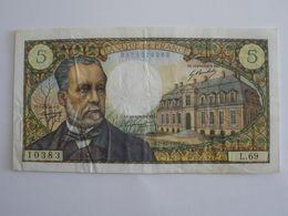 BILLET 5 F PASTEUR FAY 61/6 - 1962-1997 ''Francs''