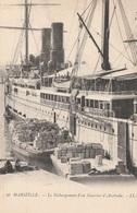CPA - Débarquement D'un Courrier D'Australie - Vieux Port De Marseille - Autres