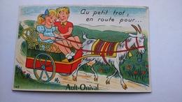 Carte Postale ( CC1) Ancienne De Ault Onival , Avec Dépliant De Plusieurs Vues - Ault