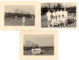 9 X Photo Watermael Boitsfort 1952 TOURNOI DE TENNIS DE FLOREAL TOERNOOI  - Foto Watermaal Bosvoorde - Watermael-Boitsfort - Watermaal-Bosvoorde