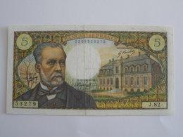 BILLET 5 F PASTEUR FAY 61/8 - 1962-1997 ''Francs''