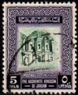 USED STAMPS Jordan - King Hussein   -1954 - Jordanie