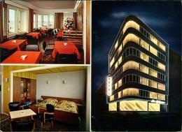 Sammelkarte Ostende Oostende Werbe-Klappkarte Hotel Die Prince 1974 - Belgio
