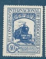Espagne  Yvert  N°  437 ( * ) -  Ay9804 - 1889-1931 Royaume: Alphonse XIII