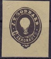 20514# VIGNETTE J.P. GODDARD AERONAUT BALLON MONTE AERONAUTE ERINNOPHILIE CINDERELLA - Commemorative Labels