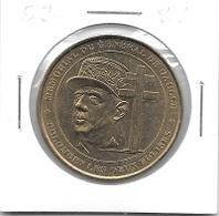 Médaille Touristique  Ville, MÉMORIAL  GÉNÉRAL  DE  GAULLE, COLOMBEY  LES  DEUX  EGLISES  ( 52 ) - Monnaie De Paris