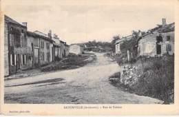 08 - BAYONVILLE : Rue De Tabeur - CPA Village ( Hameau De 100 Habitants ) - Ardennes - Francia