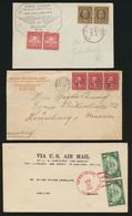 USA Sammlung Von 5 Briefen + 1 Postkarte Lot Of 5 Covers + 1 Postcard - United States