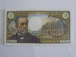BILLET 5 F PASTEUR FAY 61/12 - 1962-1997 ''Francs''