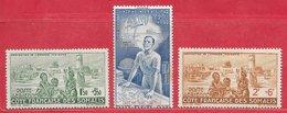 Côte Française Des Somalies PA N°8 à 10 1942 * - Nuovi