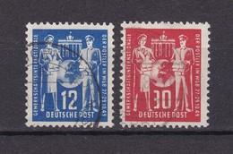 DDR - 1949 - Michel Nr. 243/44 - Gest. - 65 Euro - Gebraucht