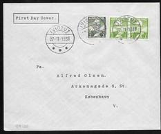 Groenland . Bureau IVIGTUT . 27/11/ 1938. - Groenlandia