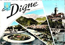 Carte 1960 DIGNE / MULTIVUES - Digne