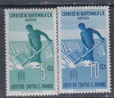 Guatemala PA N° 288 / 89 XX : Campagne Mondiale Contre La Faim, Les 2 Valeurs Sans Charnière, TB - Guatemala