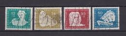DDR - 1950 - Michel Nr. 256/259 - Gest. - 75 Euro - Gebraucht