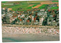 Westende, Luchtfoto, Strand En Zeedijk (pk67265) - Westende