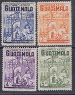 Guatemala PA N° 329 / 32 X : Pour La Béatification Du Père Pedro De Béthancourt, Les 4 Vals Trace De Charnière Sinon TB - Guatemala